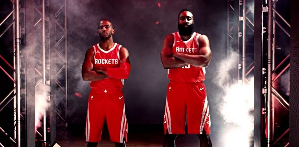 Houston Rockets Chris Paul James Harden