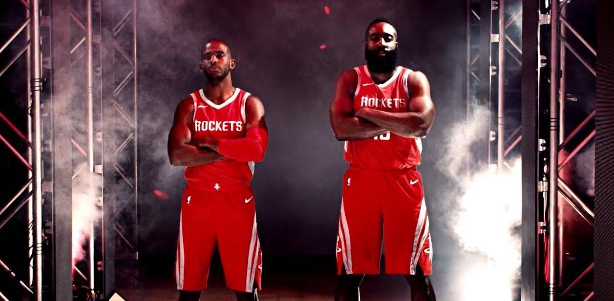 Houston Rockets Chris Paul James Harden