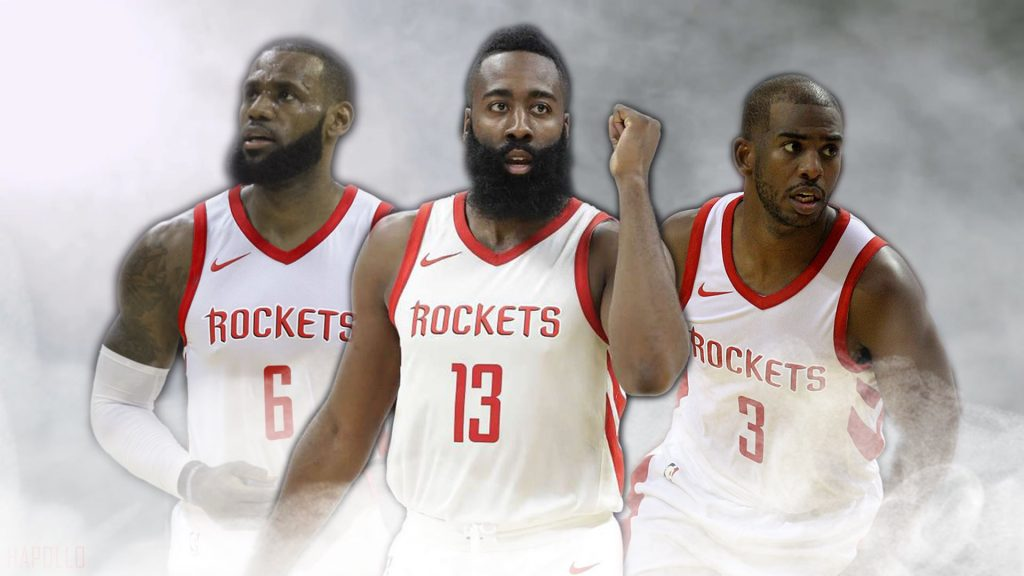 Houston Rockets LeBron James Chris Paul