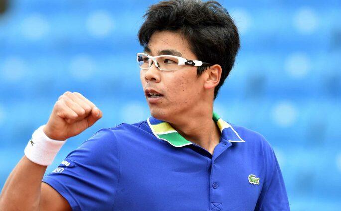 Hyeon Chung 2018 tennis