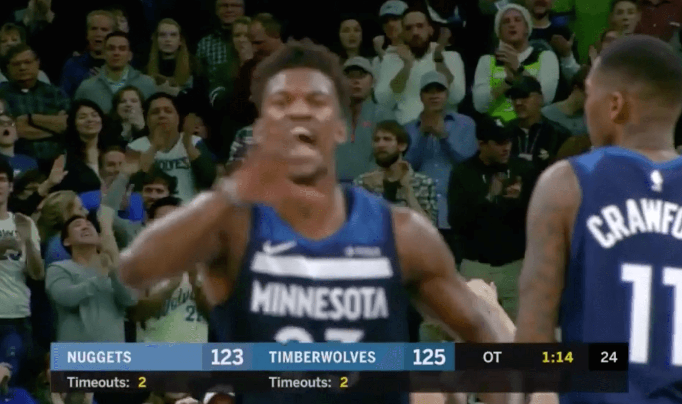 Jimmy Butler Wolves