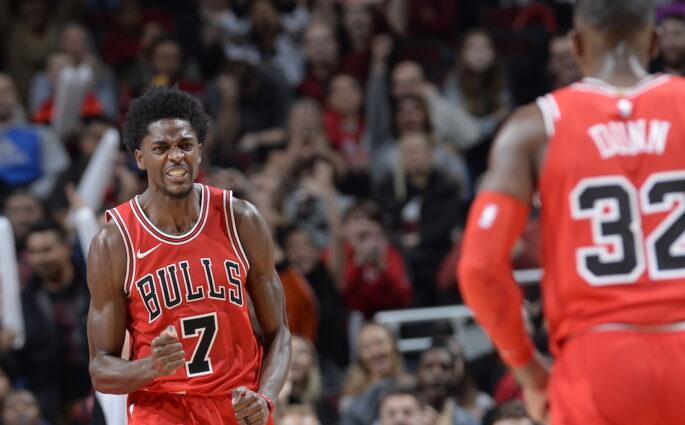 Justin Holiday Chicago Bulls Boston Celtics