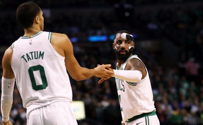 Kyrie Irving Boston Celtics Sixers