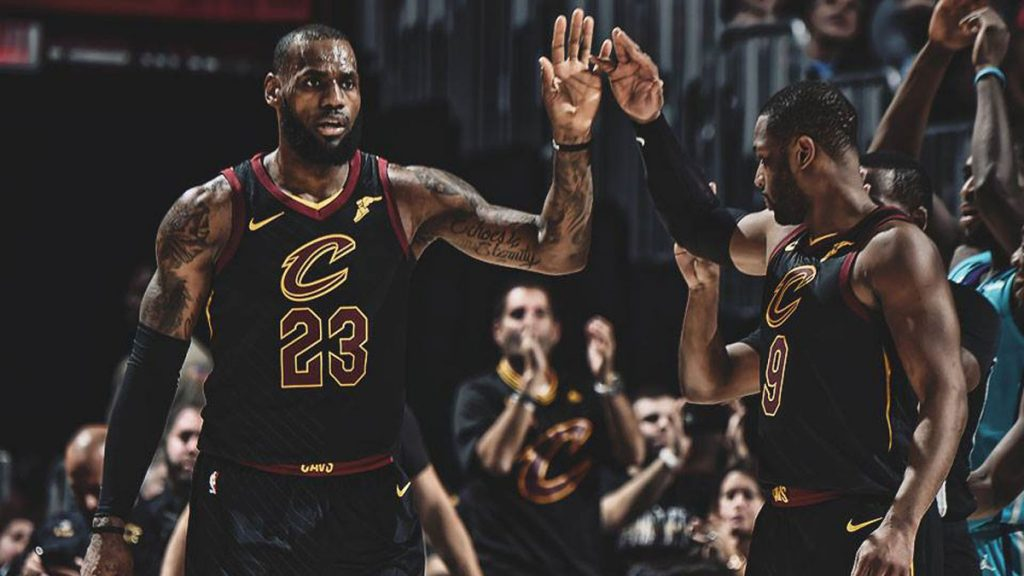 LeBron James Cavaliers Kings