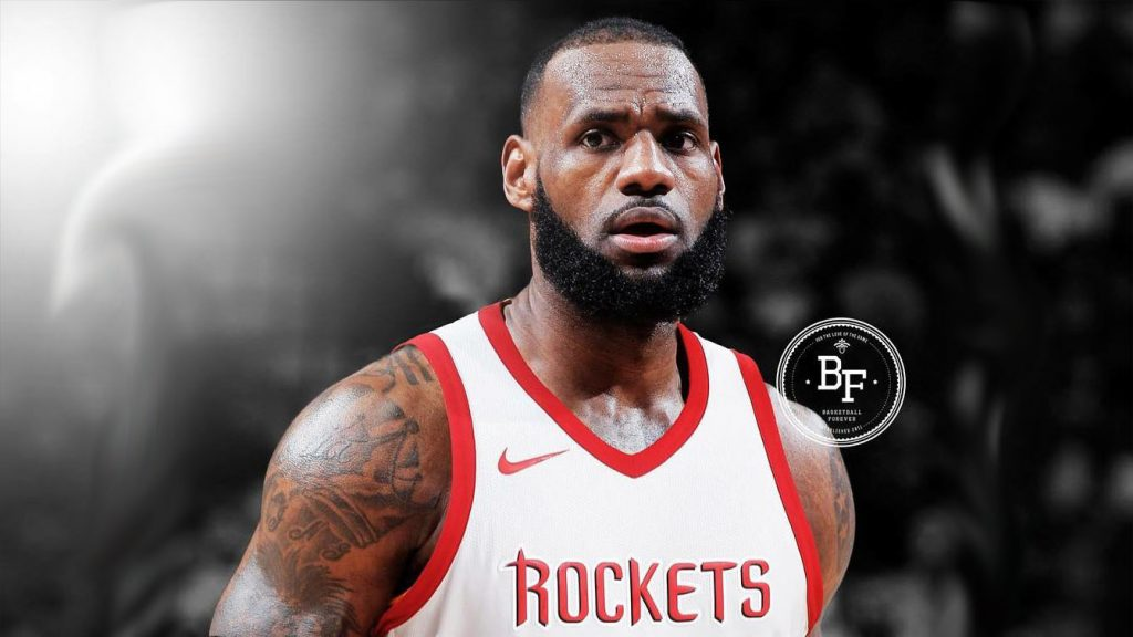 LeBron James Houston Rockets copy