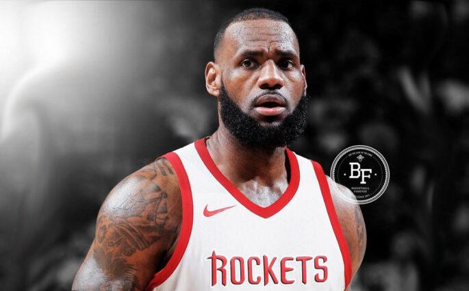 LeBron James Houston Rockets copy