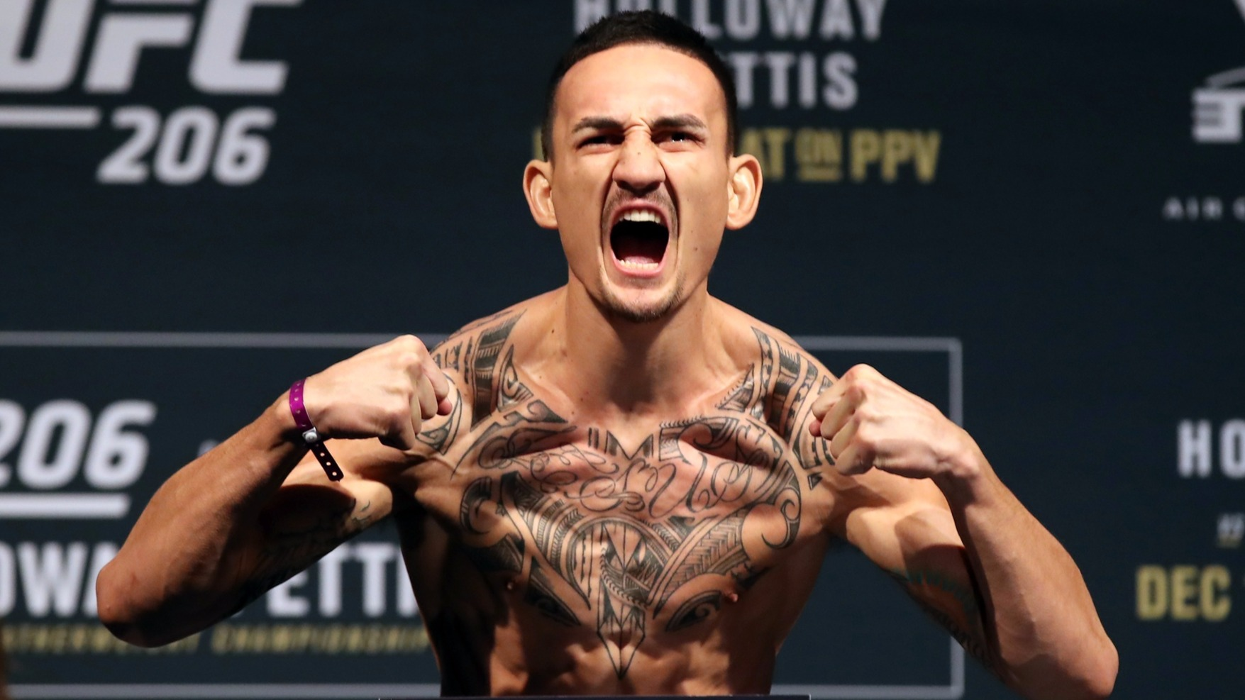 Max Holloway Conor McGregor
