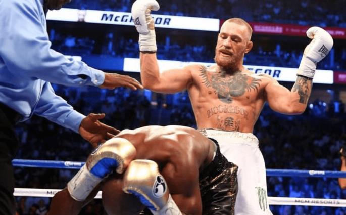 Mayweather McGregor UFC