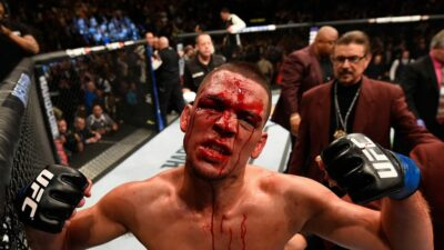 Nate Diaz UFC boxe