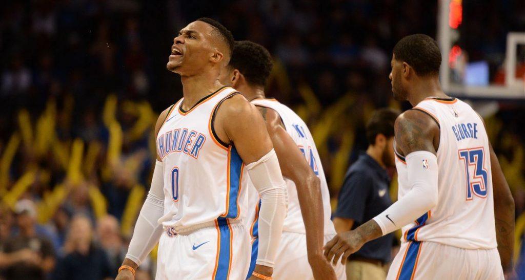 Russell Westbrook claque encore le triple double pour la victoire face au Jazz