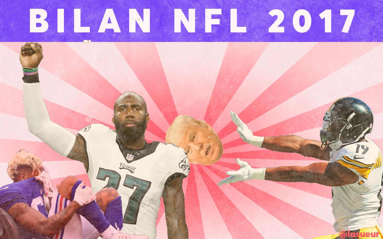 Super Pourquoi 2017 a été une année déterminante pour la NFL YJ01