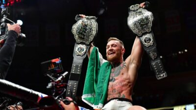 Conor McGregor belts