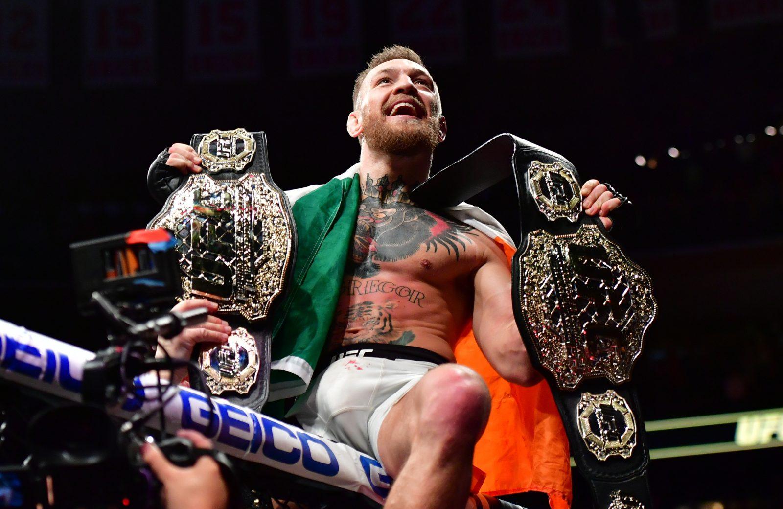 Le nouveau record bien pourri de Conor McGregor à l'UFC