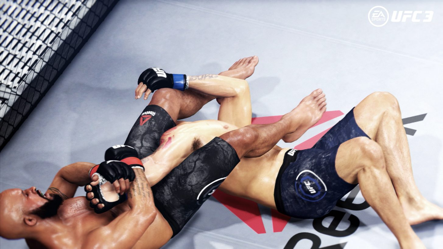 EA Sports UFC 3 submission