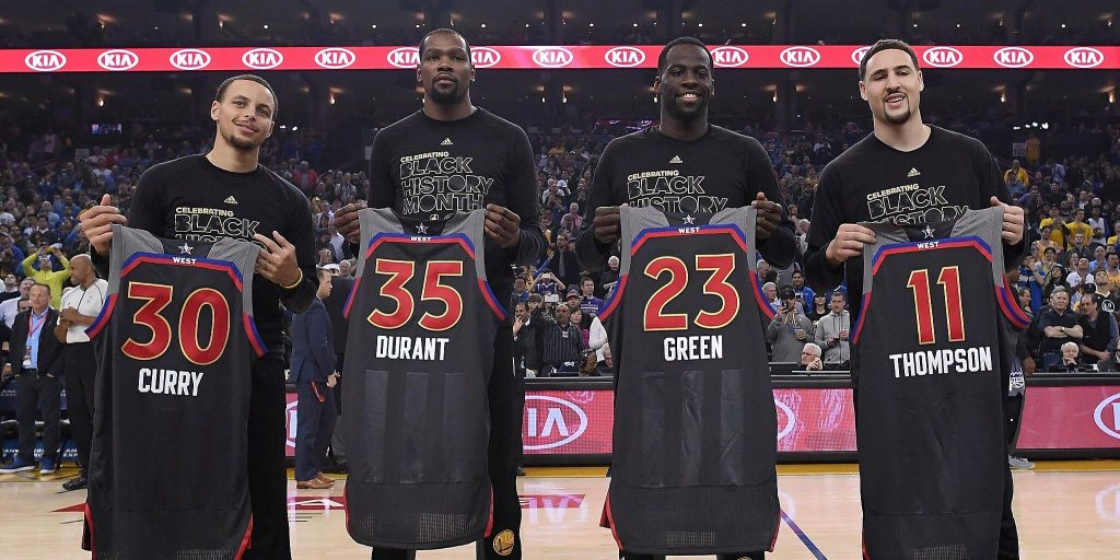 Golden State Warriors All-Star Game (1)