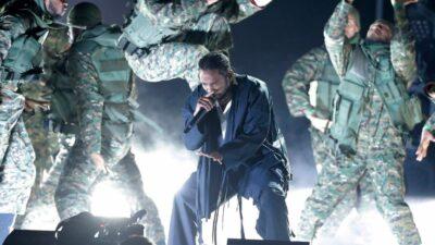 Kendrick Lamar Grammys (1)