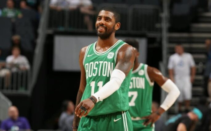 Kyrie Irving Boston Celtics Neymar