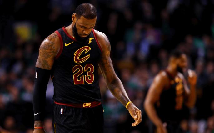 LeBron James Cavaliers Loss (1)
