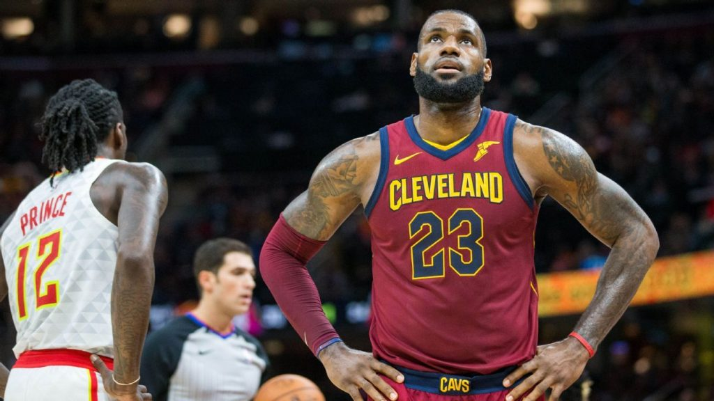 LeBron James Cleveland Cavaliers Cavs