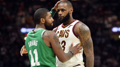 LeBron James Kyrie Irving