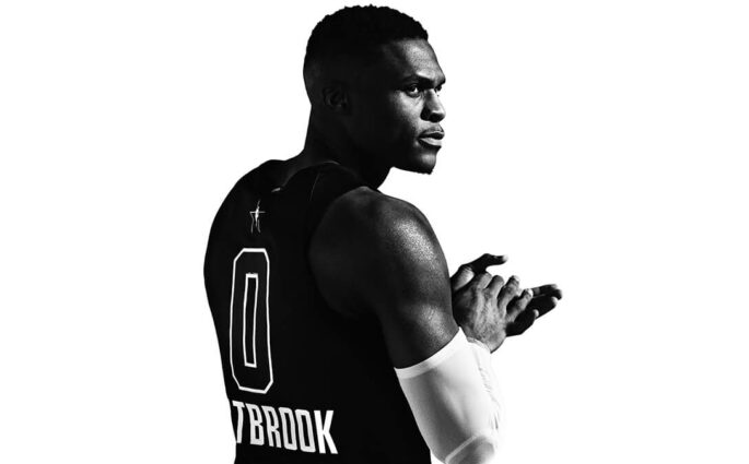 NBA All Star Game maillot Jordan Russell Westbrook
