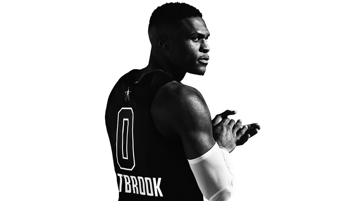 NBA All Star Game maillot Jordan Russell Westbrook