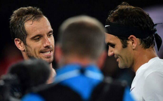 Et Richard Gasquet affronta le Maestro Roger Federer…