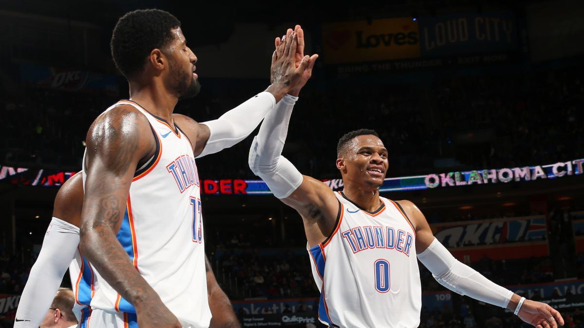 Russell Westbrook Paul George