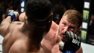 Stipe Miocic Francis Ngannou UFC 220