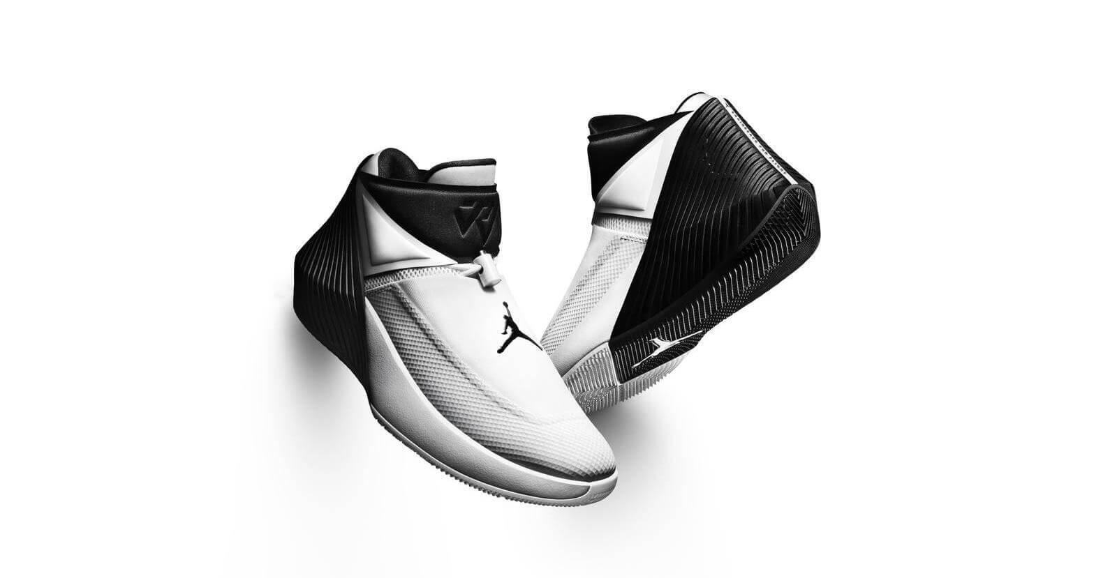 jordan pr sente la premi re signature shoe de russell westbrook. Black Bedroom Furniture Sets. Home Design Ideas