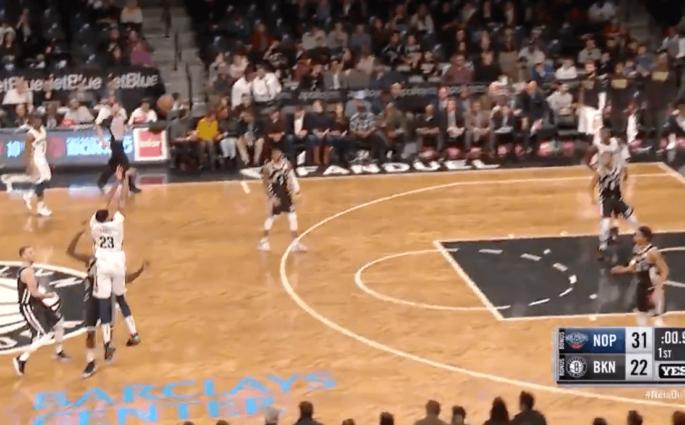 Anthony Davis Nets double overtime