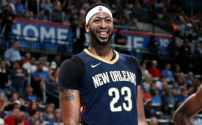 Anthony Davis Pelicans Heat
