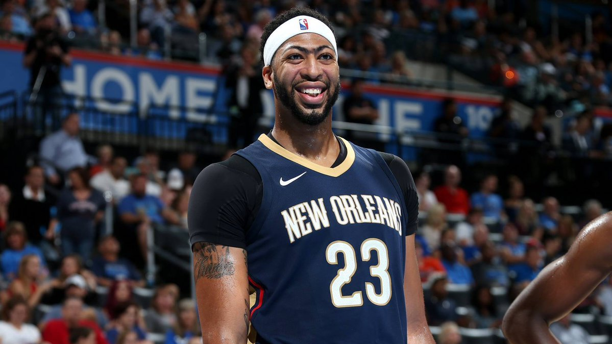 Anthony Davis Pelicans Heat