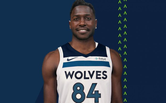 Antonio Brown Minnesota Timberwolves