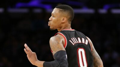 Damian Lillard Warriors
