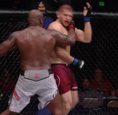 Derrick Lewis claque le TKO contre Tybura, Ngannou en vue ?