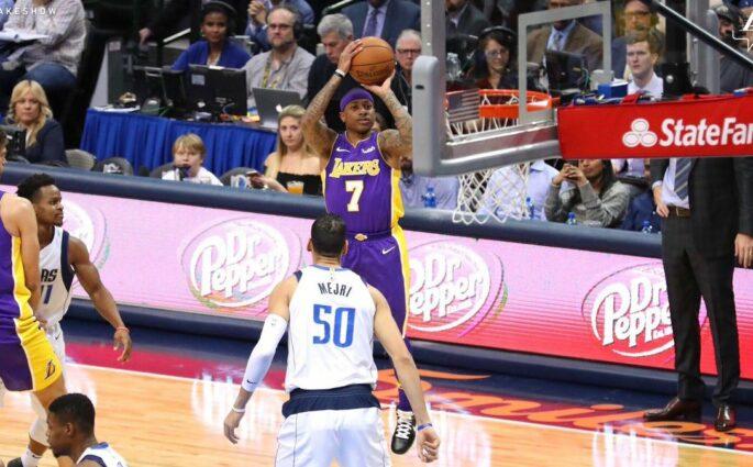Isaiah Thomas Los Angeles Lakers Dallas Mavericks