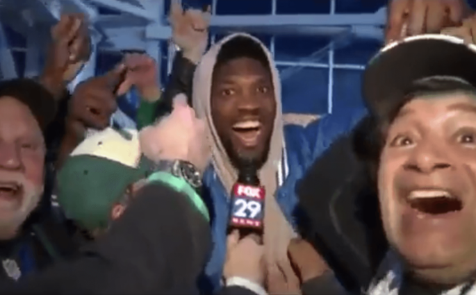 Joel Embiid TV Eagles