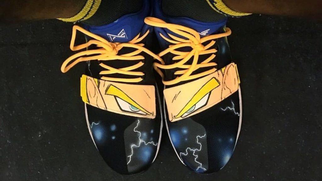 Jordan Bell Nike Dragon Ball Z Vegeta