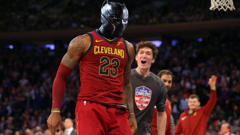 LeBron James Black Panther (1)