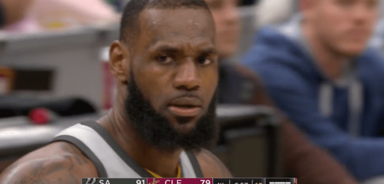 LeBron James Spurs Cavaliers