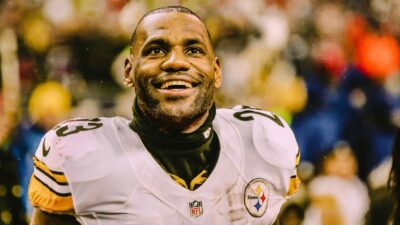 LeBron James Steelers