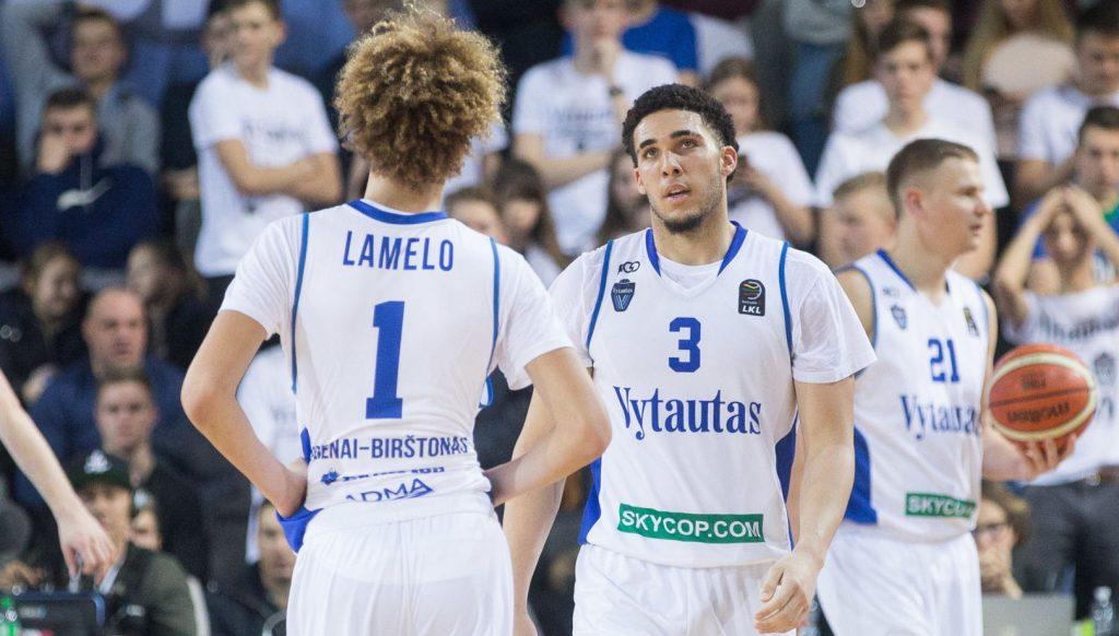 LiAngelo LaMelo Ball Zalgiris Kaunas