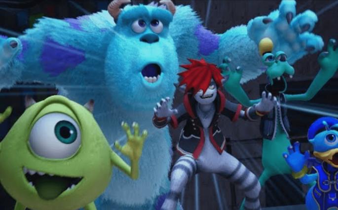 Monstres Cie Kingdom Hearts III