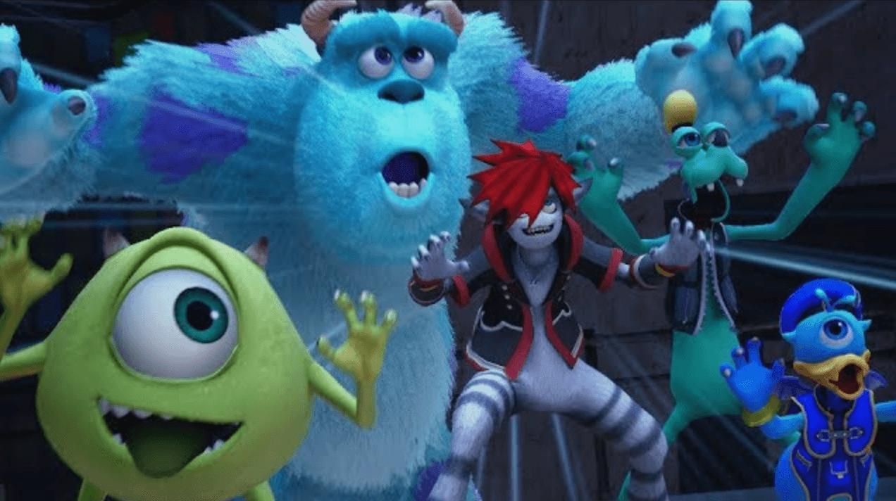 Le nombre de mondes et l'avancée du projet évoqués — Kingdom Hearts III