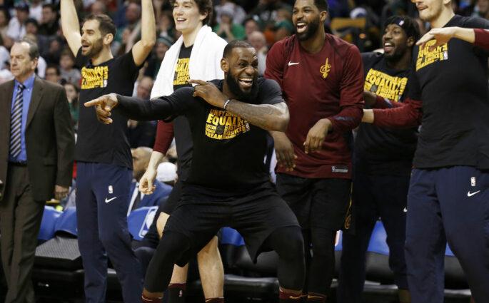 NBA Cavaliers Celtics
