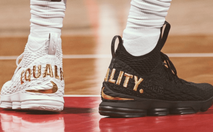 Nike va proposer les LeBron 15 Equality en édition ultra-limitée