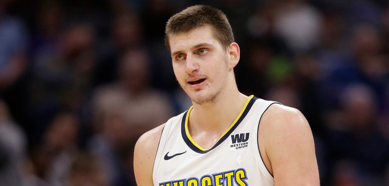 Nikola Jokic Denver Nuggets triple double
