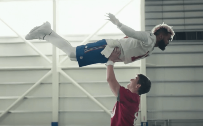 Super Bowl Odell Beckham Eli Manning Dirty Dancing