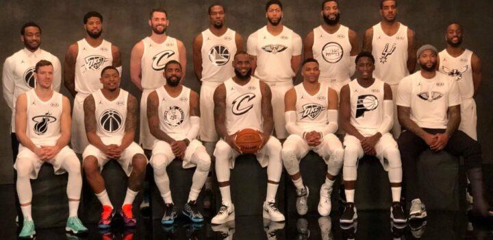 LeBron James dévoile l'ordre de ses choix de Draft du All-Star Game